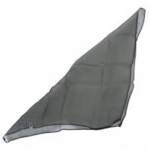 monochrome black sensory scarf