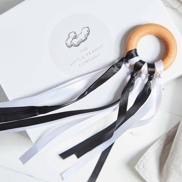 Black and White Sensory Ribbons for Newborns
