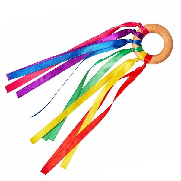 Rainbow Ribbon Sensory Ring