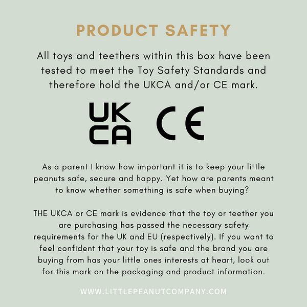 CE UKCA Safety Information