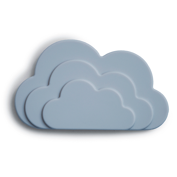 Silicone teether cloud